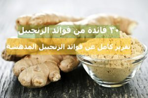 الزنجبيل وافضل وصفه لذيذه وصحية لفوائده العديدة تعرف عليها   شبكة عرب مصر