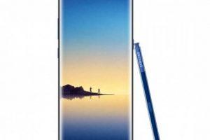 تسريب صور لهاتف Galaxy Note 8 باللون الأزرق الغامق تعرف على التفاصيل   شبكة عرب مصر