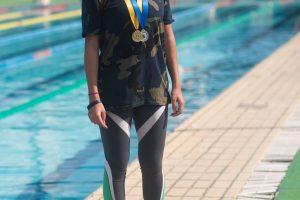 الفنانة الشابة ياسمين صبري تأخذ قرار بعد فوزها ببطولة الاساتذة للسباحة