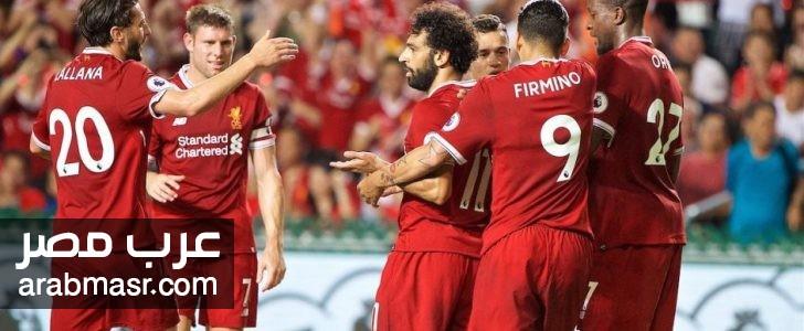 مباراة ليفربول ومانشستر يونايتد فى الدورى الانجليزى | شبكة عرب مصر