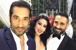 الفنان احمد سعد وسمية الخشاب يحدث بينهما طلاق في سرية تامة