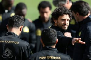 اللاعب المصري حسام غالي الغموض يسيطر على مستقبله مع فريق النصر السعودي