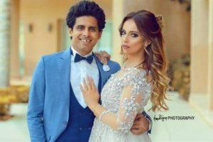 الفنان حمدي المرغني يقتحم مسرح مصر ويهدد زوجته بالطلاق بسبب موقف حقيقي